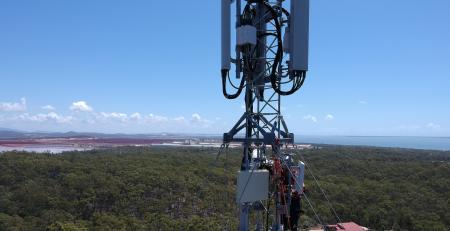 Boyne Island Tower Upgrade